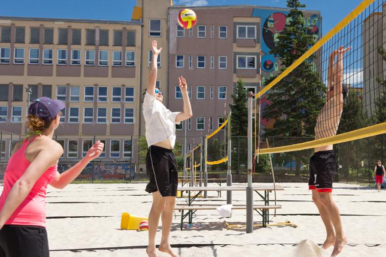Turnaj v plážovém volejbale