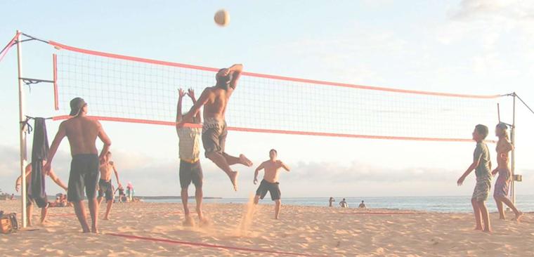 Turnaj dvojic v beach volejbale