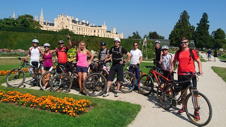 Cyklistická akce Břeclavsko 2017