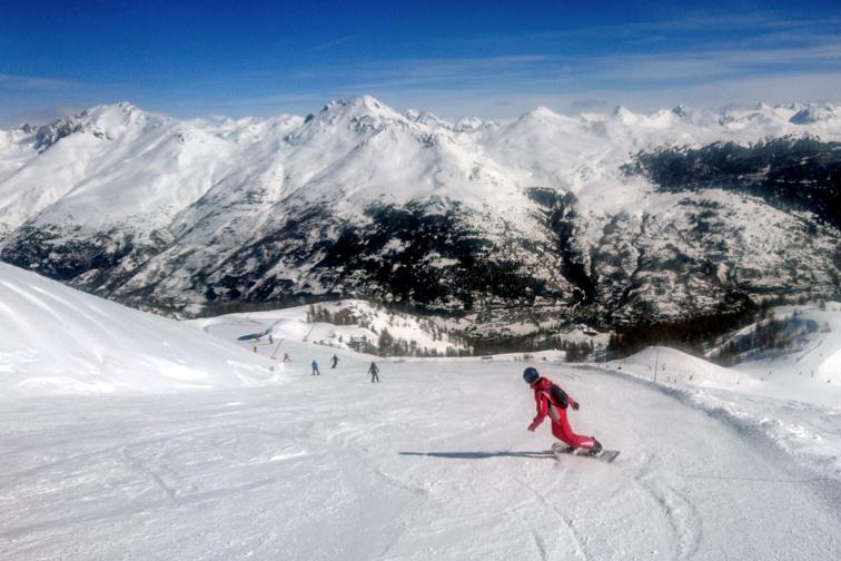 Zahraniční lyžařská akce – Serre Chevalier