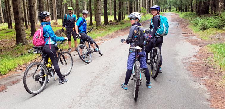 Cyklo-turistika v Krušných horách