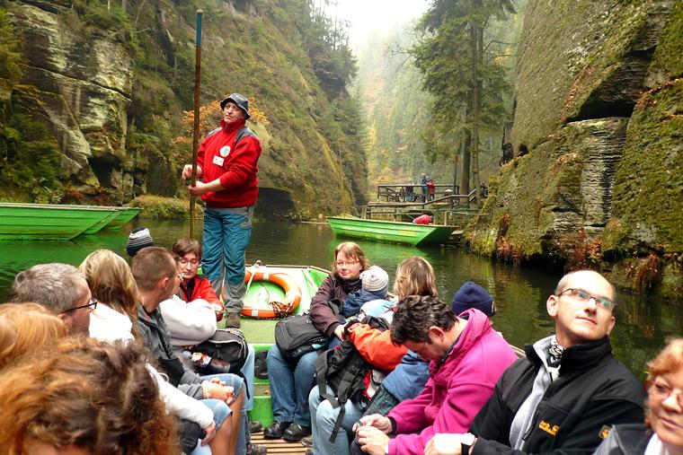 Turistická akce České Švýcarsko 2014